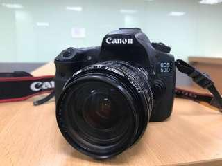 Canon EOS 60D+ Canon zoom lens 28-105mm f3.5-4.5 佳能中階單眼相機 鏡頭