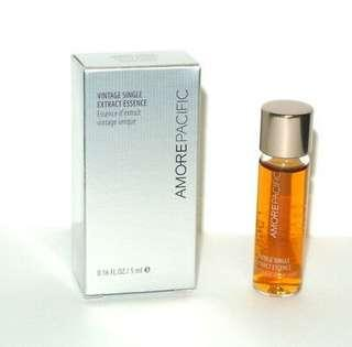 Brand New Amorepacific Vintage Single Extract Essence sample deluxe 5ml