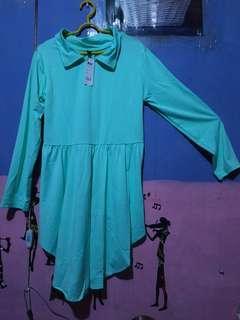 Mididress dress pinguin hijau AV collection