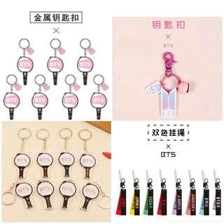 🚚 BTS Cute Characters key chain