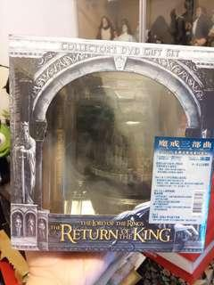 Lord of the rings 魔戒三部曲 dvd sideshow絕版