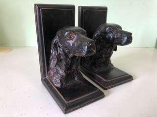 🚚 Vintage Spaniel Dog Bookends