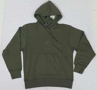 全新正品 TIMBERLAND 男裝長袖位衣(軍綠色/M碼)