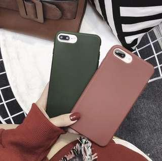 solid colour iPhone cover