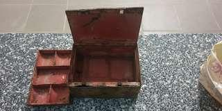 antiques safe box metal