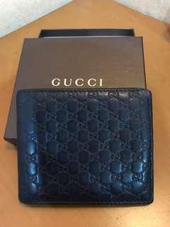 Gucci Wallet navy billfold