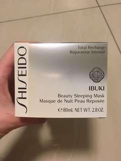 Sleeping Mask Shiseido Ibuki
