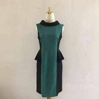 Grenn Peplum Dress