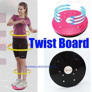 🚚 Instock Twist Board Excercise Workout Lose Belly Fat Waist Tummy Slimmer Aerobic Fitness