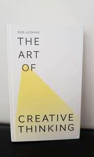 The art of creative thinking by Rod Judkins book