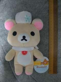 Authentic Rilakkuma Winter Plush Soft Toy (MEDIUM Size, San-X)
