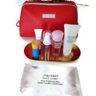 Shiseido White lucent skincare sample set