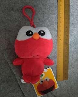Authentic Elmo Sesame Street Beanie Plush Toy