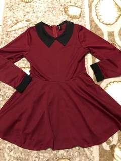 🚚 🌹氣質深紅洋裝
