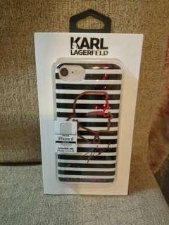 KARL LAGERFELD iPhone 8 7/6/6S 厚軟膠 case