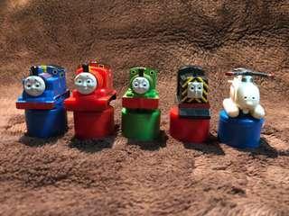 Thomas & Friends stamps 立體湯瑪士火車頭玩具公仔 印章 擺設