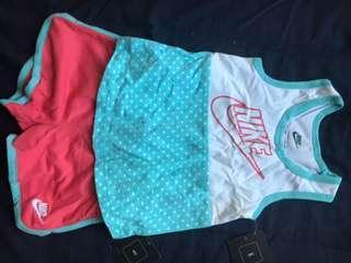 NEW girls sporty set 全新女童運動套裝