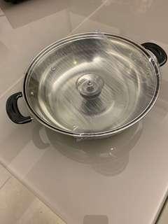 全新 26cm 打邊爐火鍋煲 適用於電磁爐