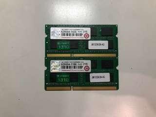 🚚 創見 DDR3 1333 4G 雙面顆粒 終身保固