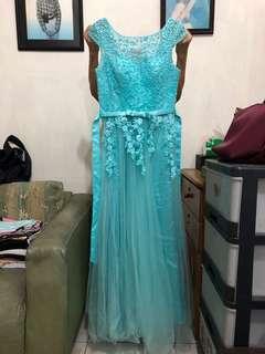 Party gown , Elsa dress size M