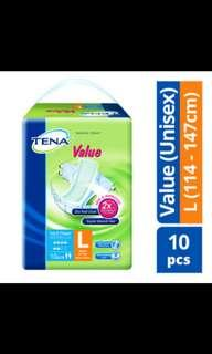Tena Adult Diapers Size L
