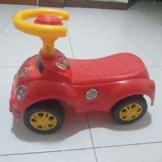 Kids playing car