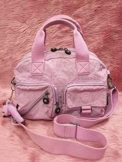 Kipling Defea Pink Crossbody Handbag