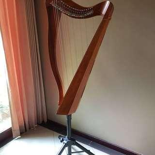Electric Harp Harpa second preloved bekas
