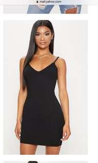 Pretty Little Things Ribbed Bodycon dress