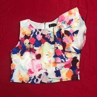 TCL Floral Cropped Top