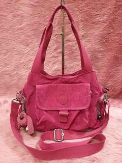 Kipling Pink Crossbody Shoulder Bag