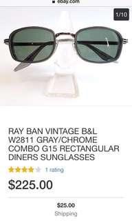 B&L Rayban Rare Eyepiece