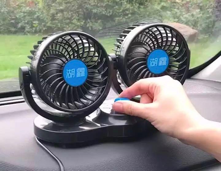車用風扇 12V 強力 靜音 制冷 車載風扇