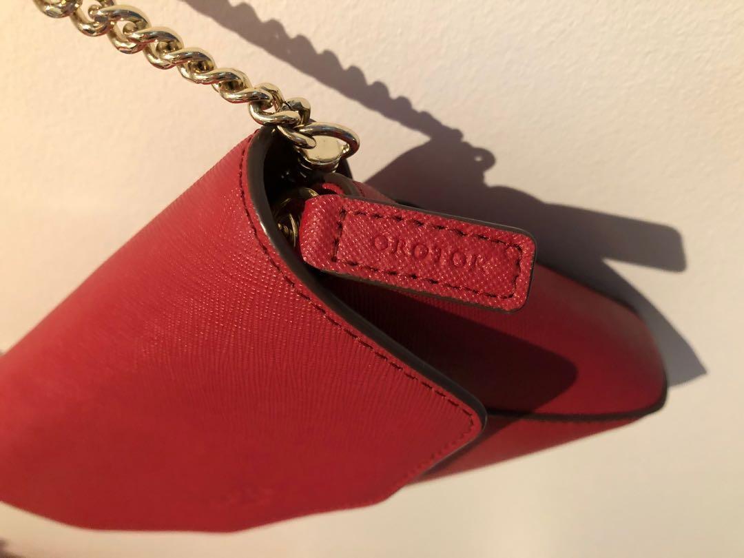 A Red OROTON Crossbody