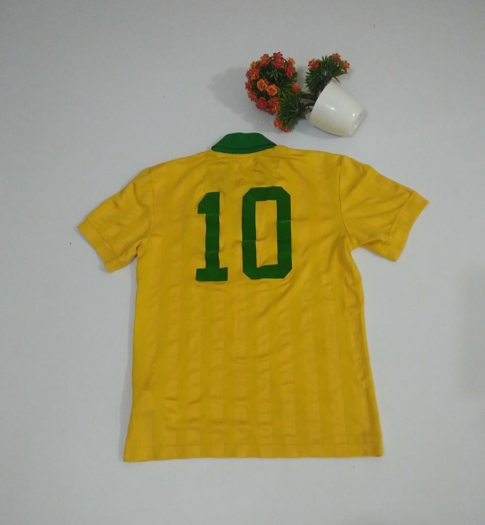 Adidas Mens Brazil Zuca Retro Jersey Original