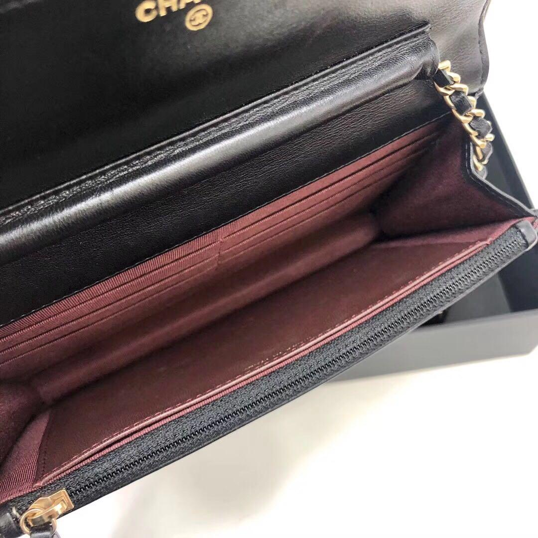 Authentic Pre-loved Chanel Wallet on Chain WOC
