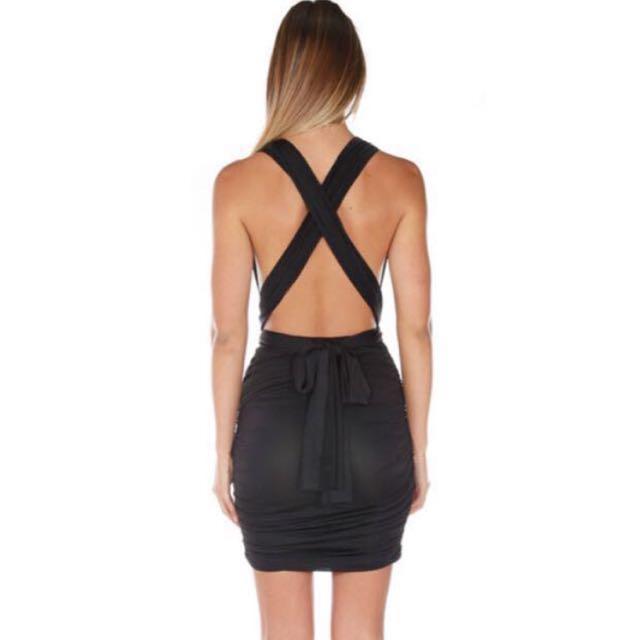 Babyboo Black Dress
