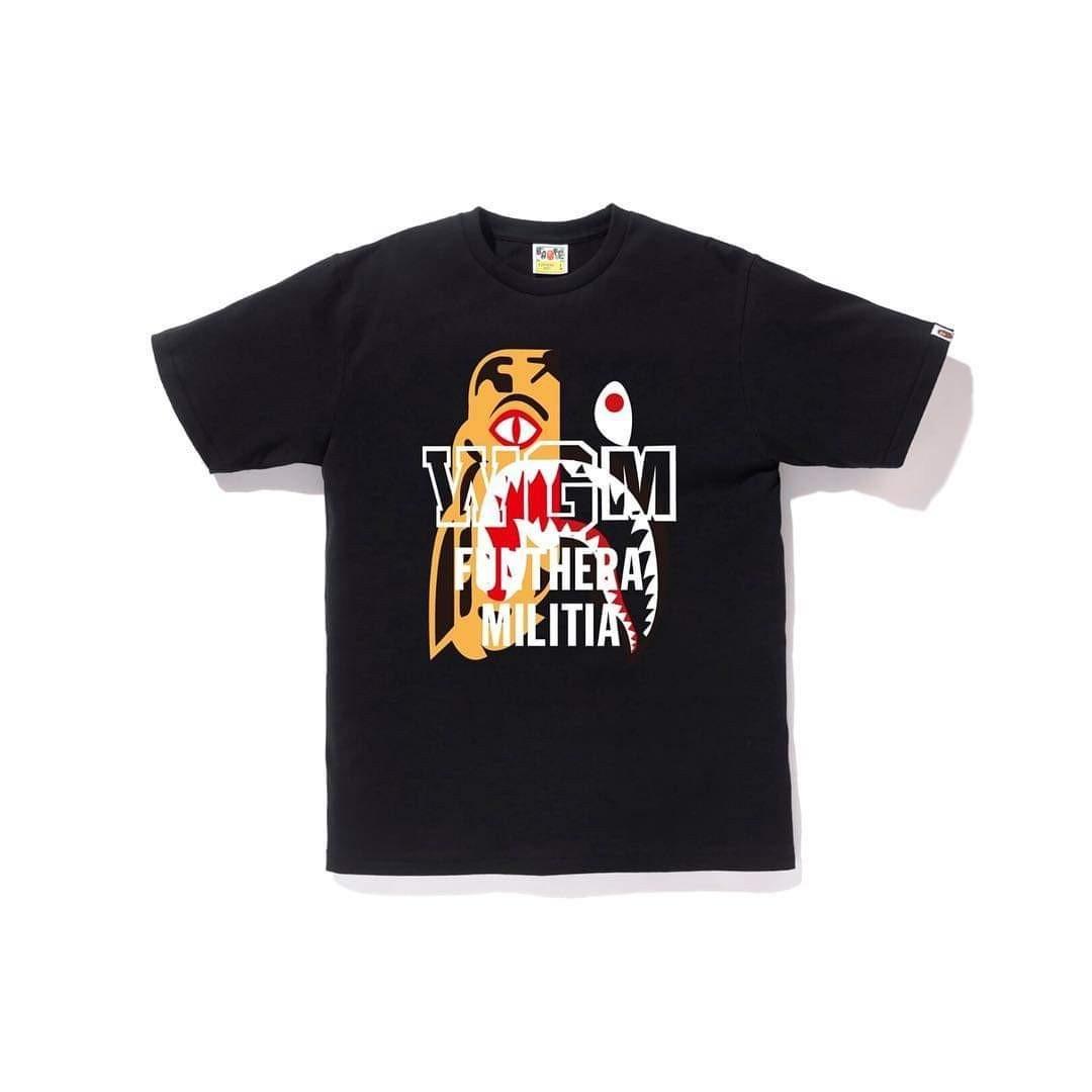 532837b2 Bape Tiger Shark Tee Shirt, Men's Fashion, Clothes, Tops on Carousell
