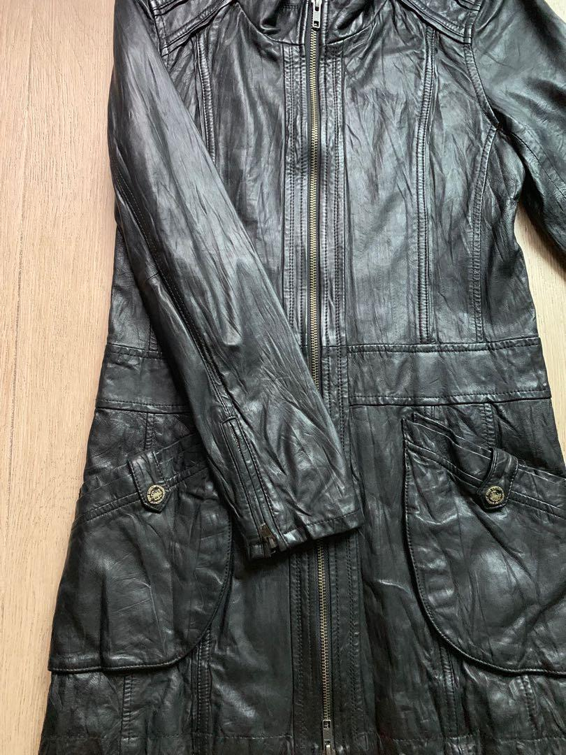 Bauhaus Leather Jacket 冬天必備❗️減價