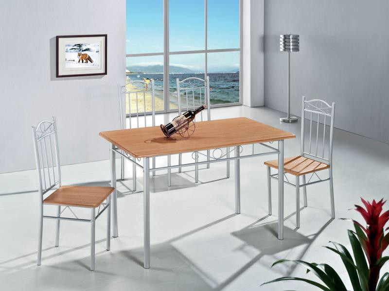 Beech affordable Dining table and four chairs sale!