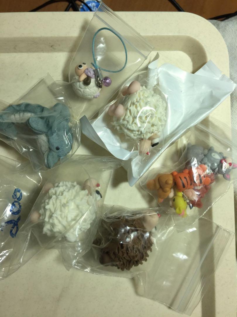 BN clay animal figures