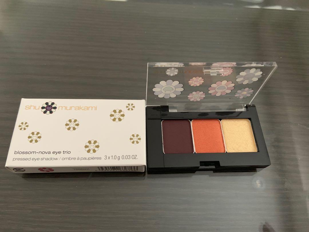 Brand new limited edition eyeshadow trio from shu uemura