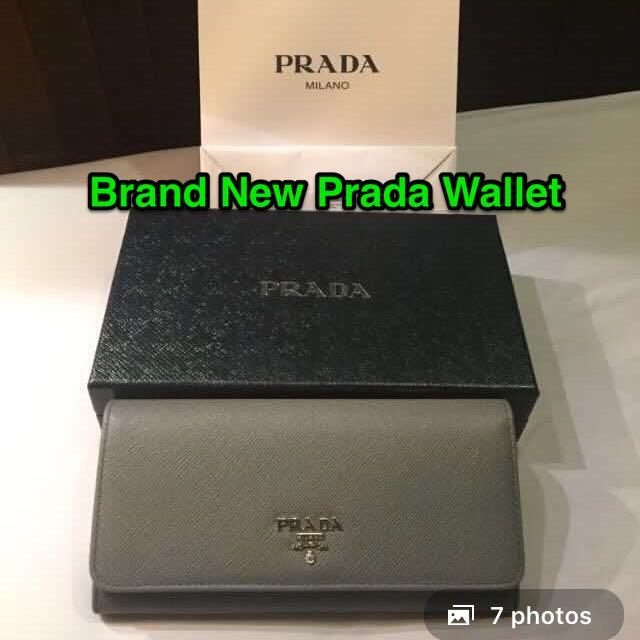 d55fcbc97651 Brand New Prada Saffiano Long Wallet, Women's Fashion, Bags ...