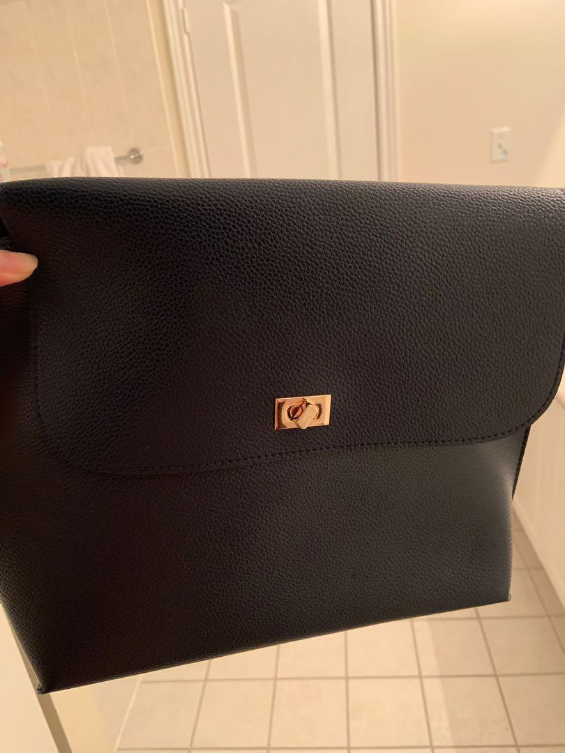 Brand new side bag from shoppers gift with purchase. Will bring samples for you to choose.