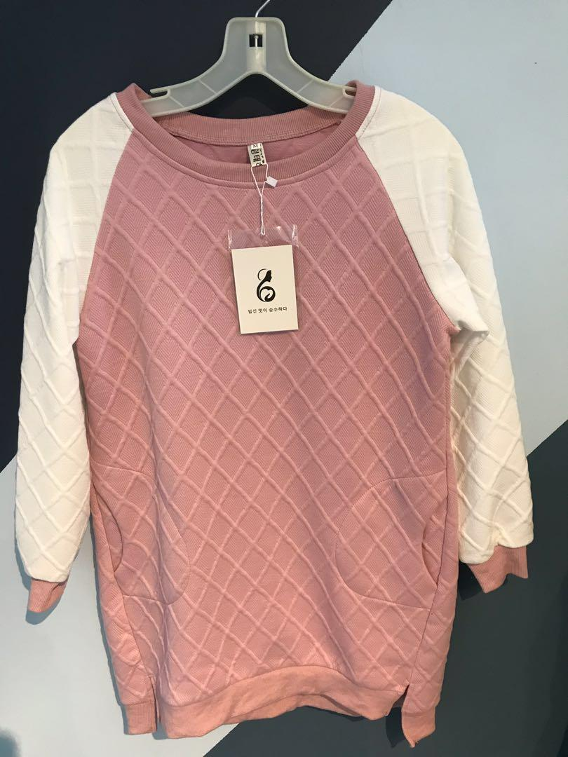*Brand new w/ tag* - cozy long sweater from Korea - size: s/m