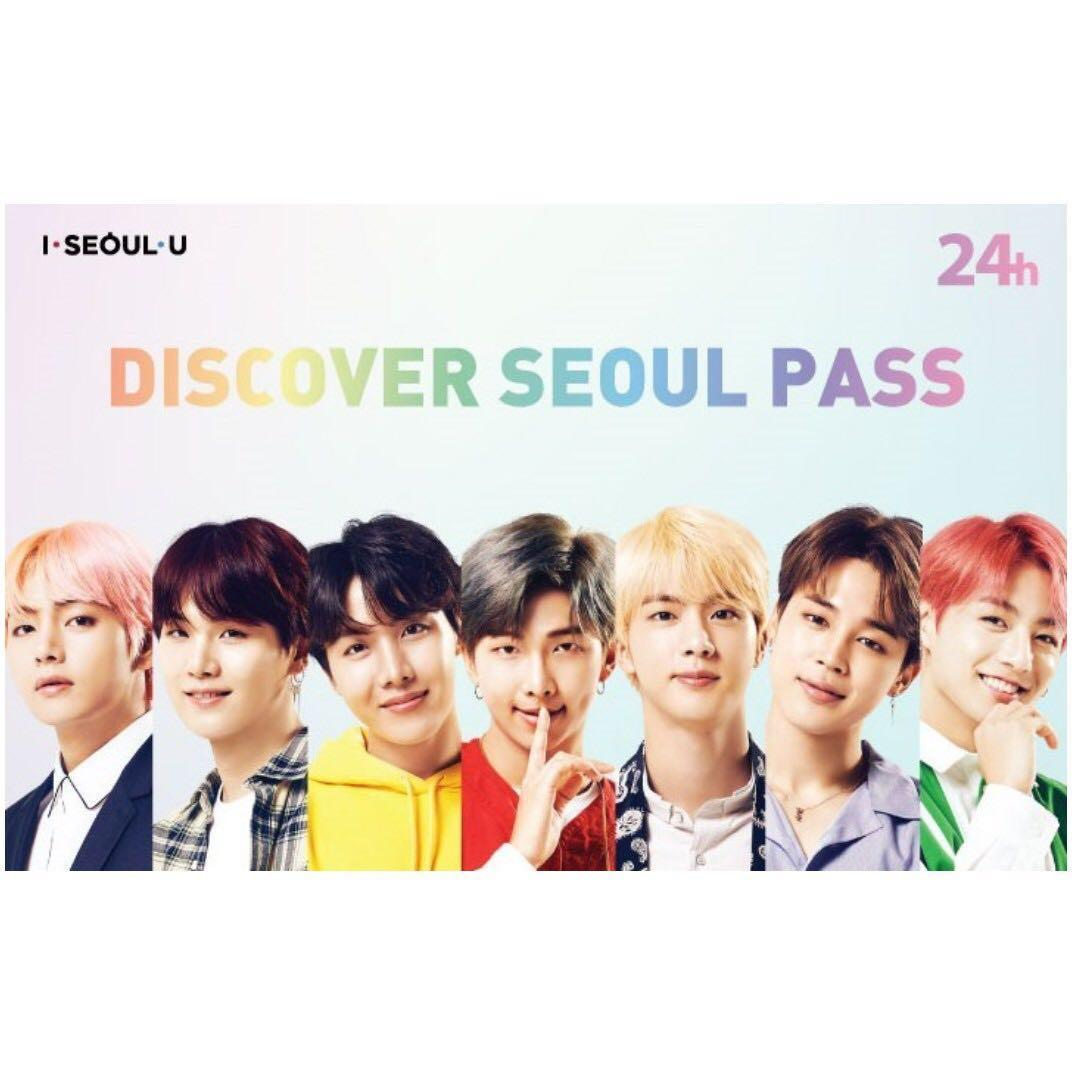 Closed ❗️❗️<PRE-ORDER> Discover Seoul Pass BTS Edition