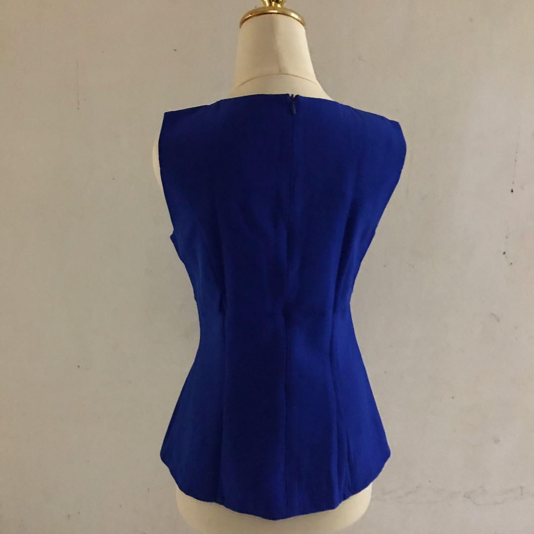 Cocoya Electric Blue Top