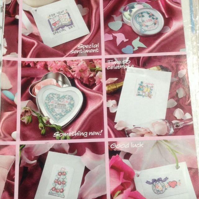 Cross Stitch Chart <Wedding> B22