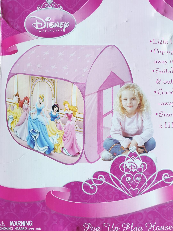 a11da0dc9395 Disney Princess Pop Up Play Tent Theme Parties, Babies & Kids, Toys ...