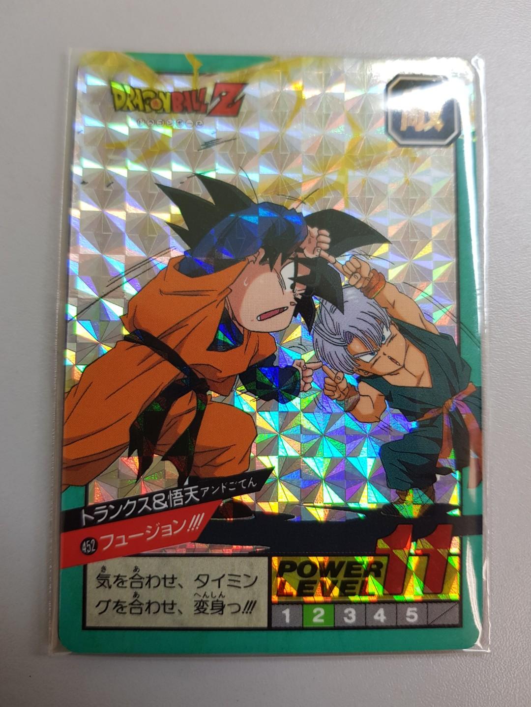 DRAGON BALL Z 30TH CARDDASS SUPER BATTLE POWER LEVEL PART 11 CARDS 3 PRISMS